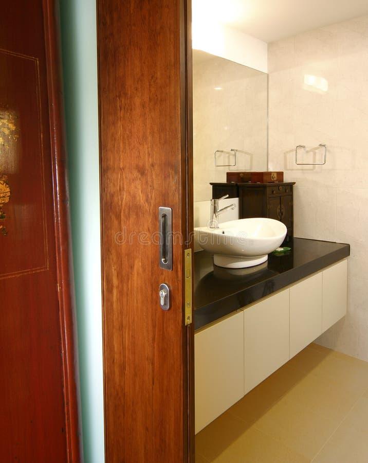 卫生间设计内部 免版税库存照片