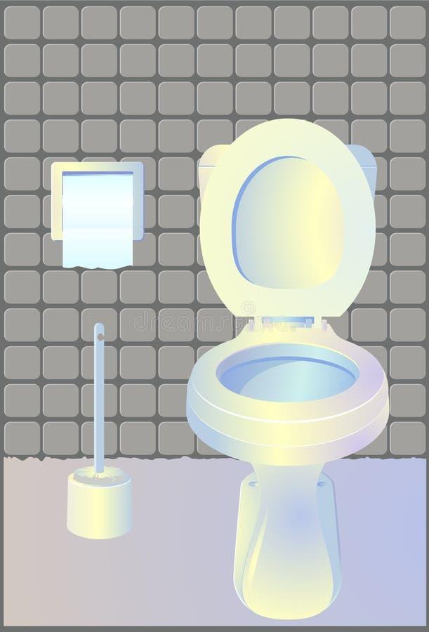 卫生间洗手间 免版税图库摄影