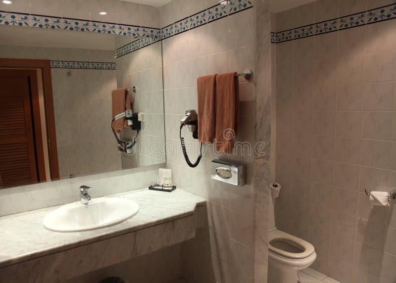卫生间旅馆s 库存照片