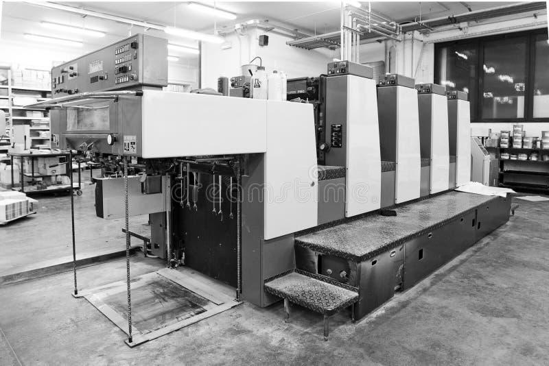 印刷品机器 免版税库存图片