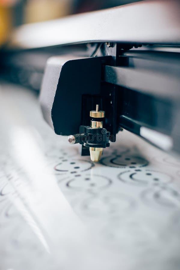 印刷店设备 库存照片