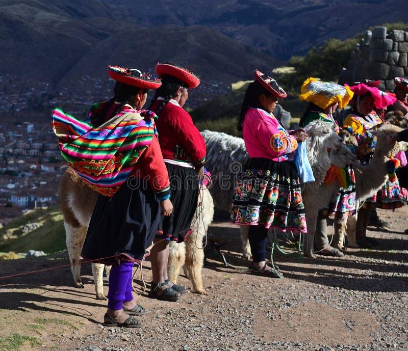 印加人土地,秘鲁 库存照片