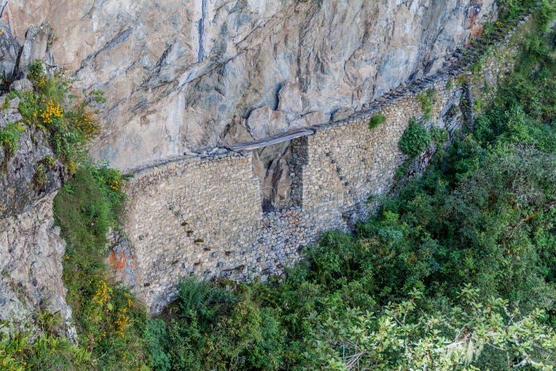 印加人足迹 图库摄影