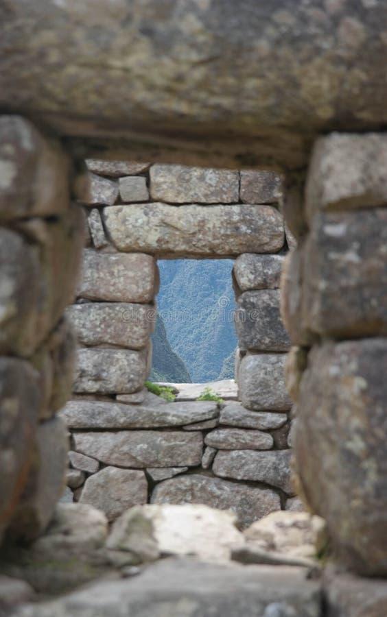 印加窗口 免版税库存照片