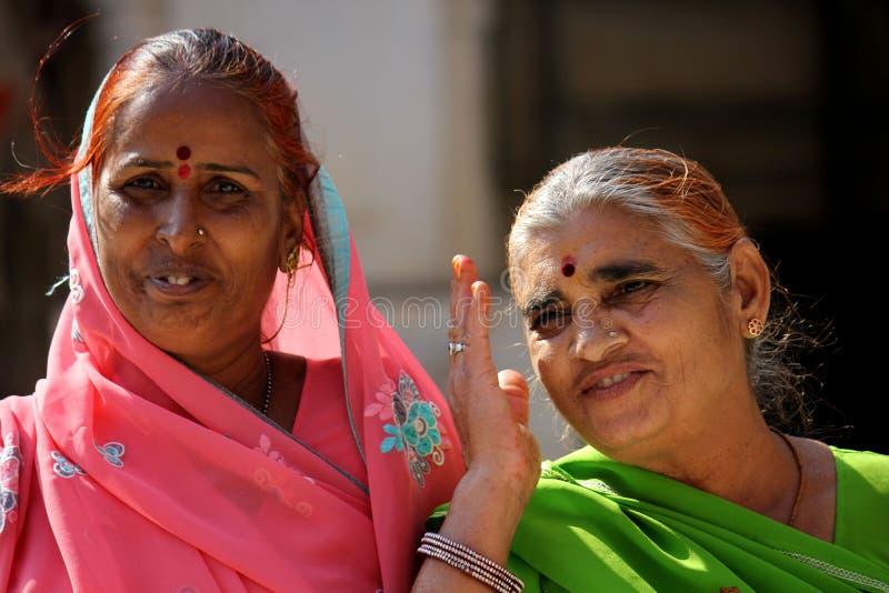 印地安人二妇女 免版税图库摄影