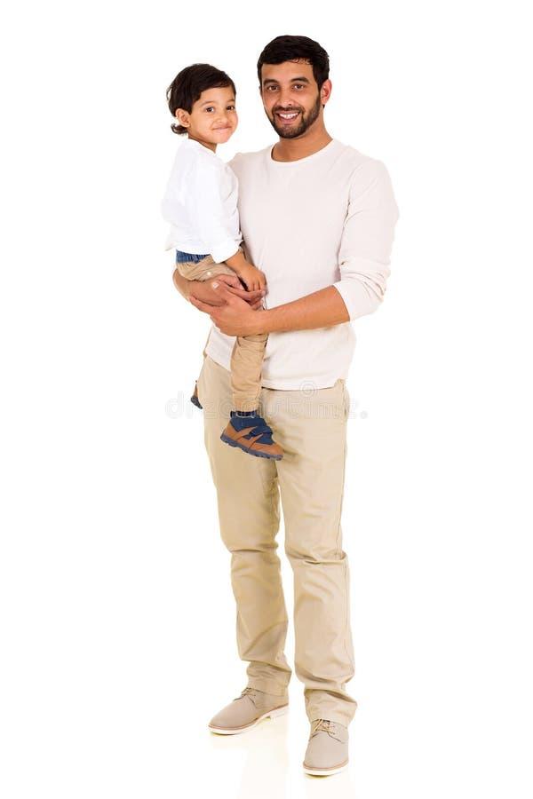 年轻印地安人儿子 免版税库存照片