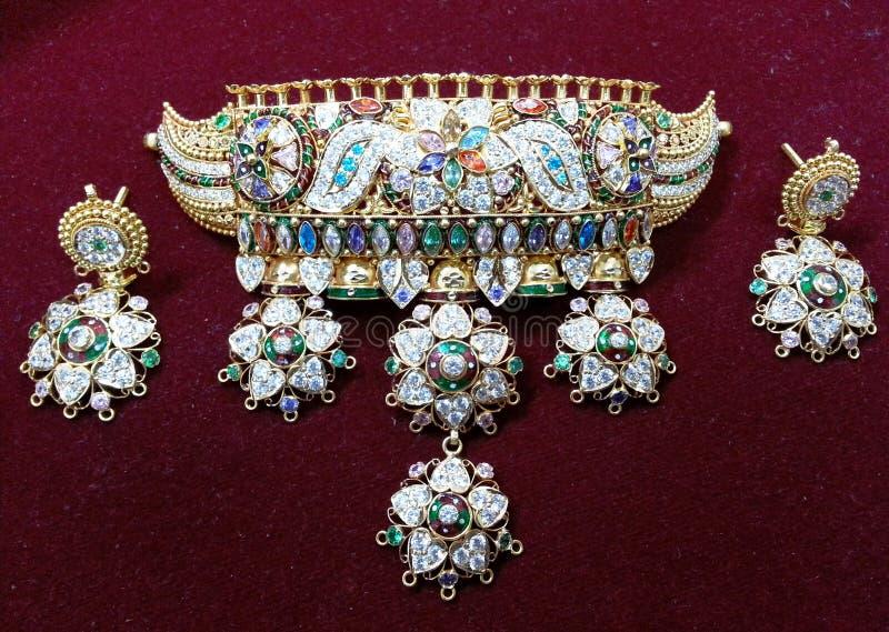 印地安传统首饰 库存图片