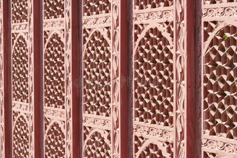 印地安墙壁 免版税图库摄影