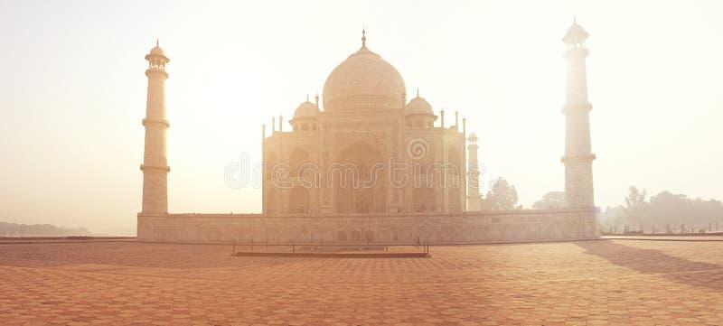 印地安宫殿泰姬陵世界地标 免版税库存照片