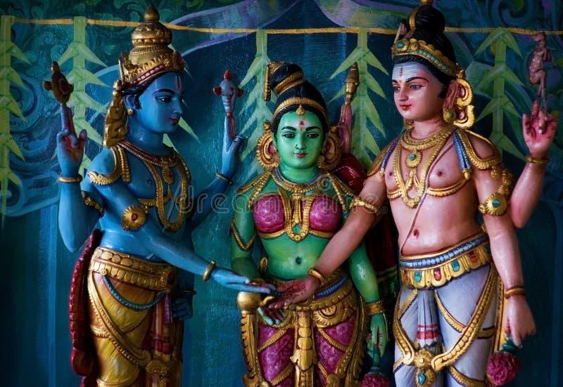 印地安寺庙 库存图片