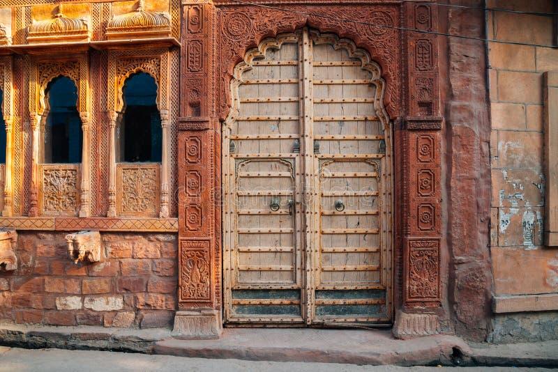 印地安样式老房子 免版税图库摄影