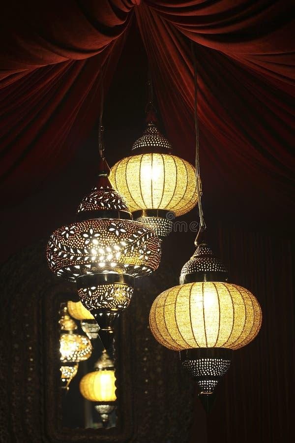 印地安灯 免版税库存图片