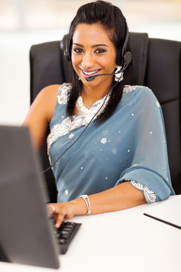 印地安电话中心 库存图片