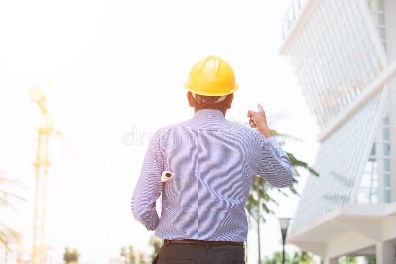 印地安男性建筑学 免版税库存照片