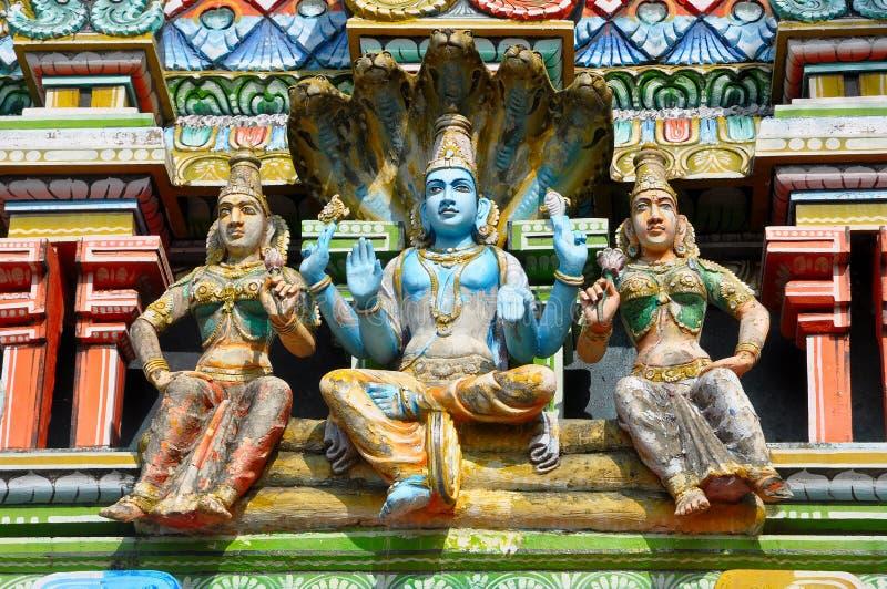 印地安神 库存图片