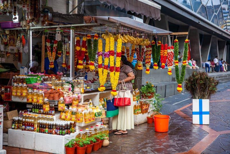 印地安花诗歌选在新加坡 库存照片