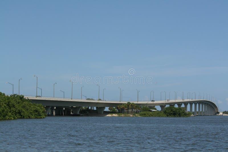 印地安街道桥梁 免版税图库摄影