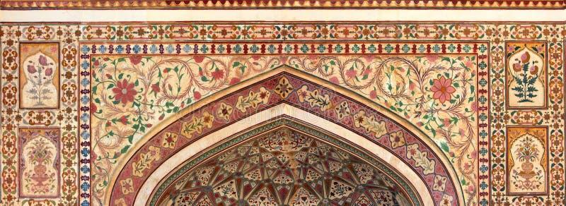 印地安装饰品-斋浦尔印度 免版税库存照片
