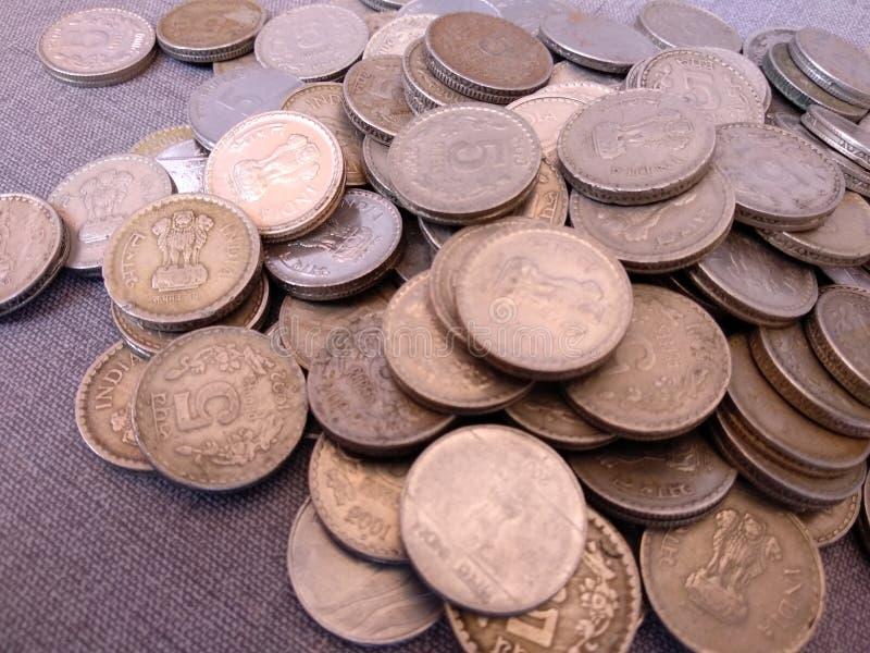 印地安货币卢比 库存图片