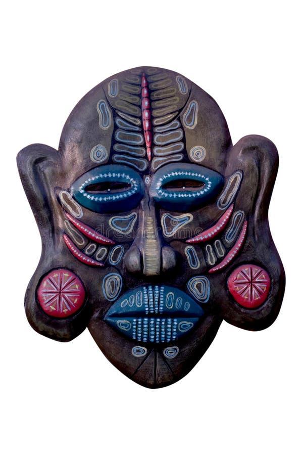 印地安面具。 库存图片