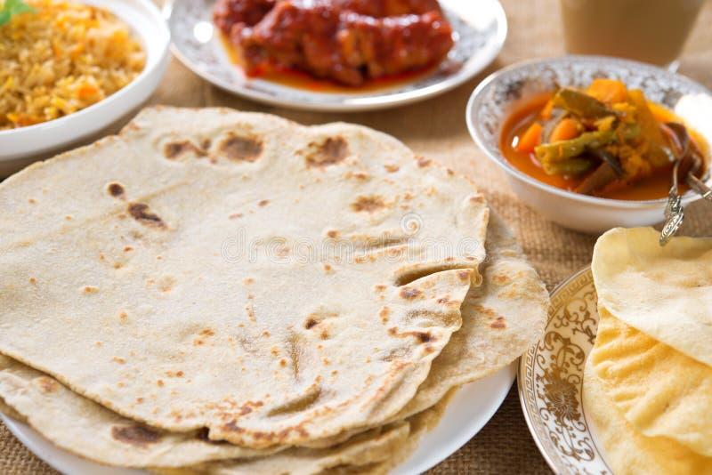 印地安食物 免版税图库摄影