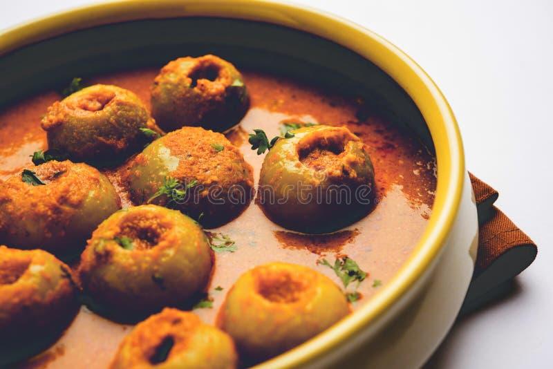 印地安食物Tinda Masala在碗,选择聚焦服务 库存照片