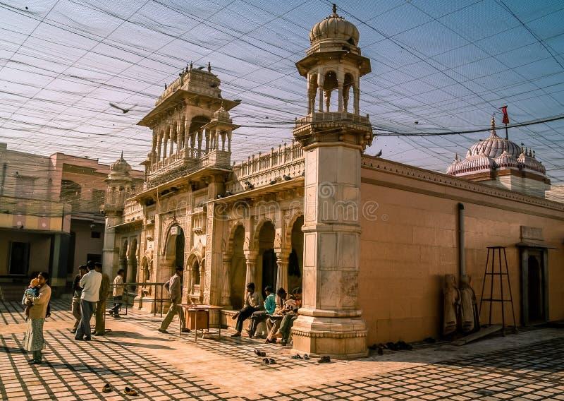 印地安鼠寺庙 免版税库存照片