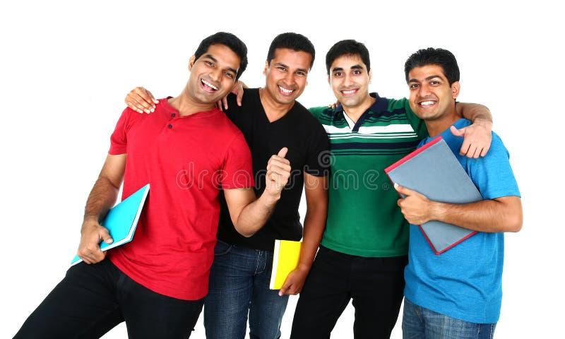 年轻印地安/亚洲小组画象  免版税库存图片