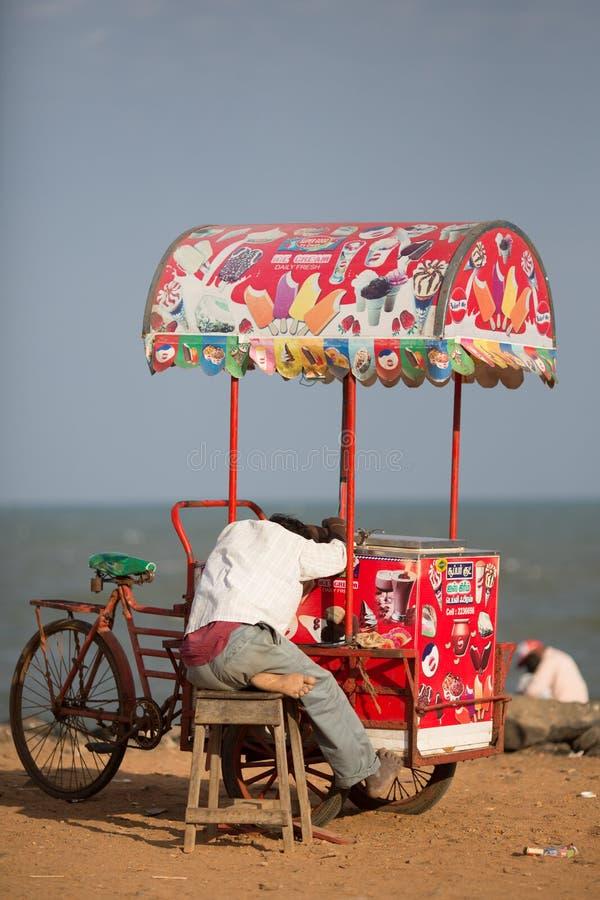 印地安贸易商 库存图片