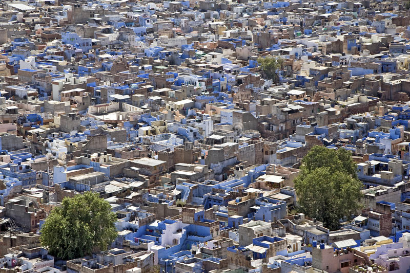 印度乔德普尔城 库存照片