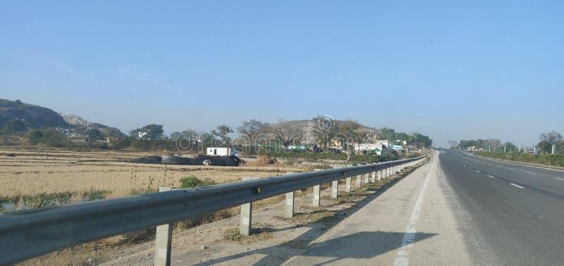 印度兰基巴尔西林高路白天被俘 图库摄影