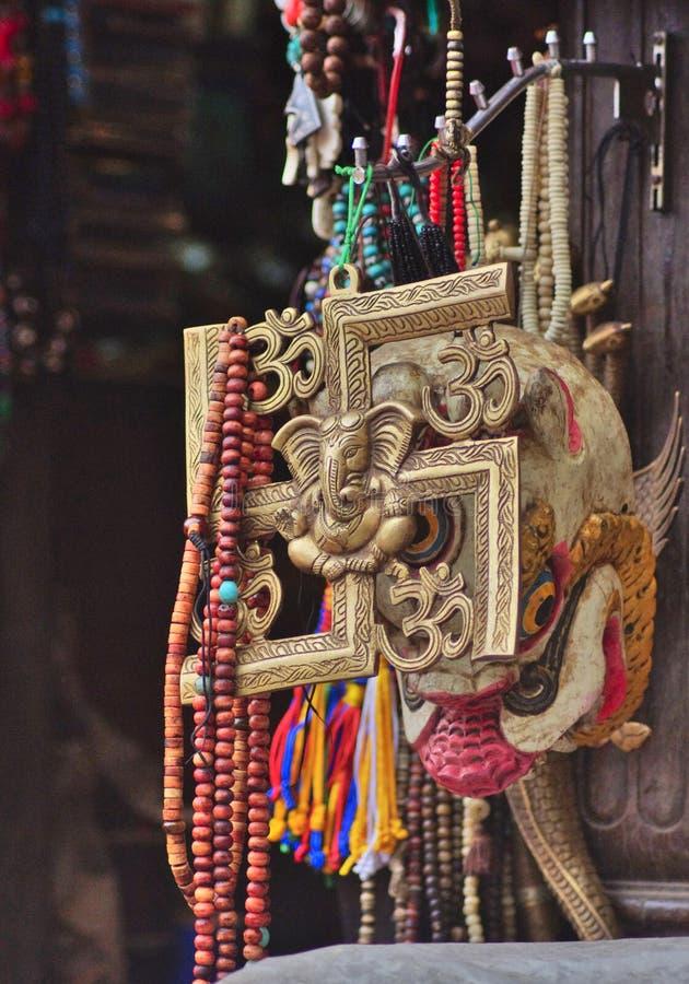 印度十字记号 库存图片