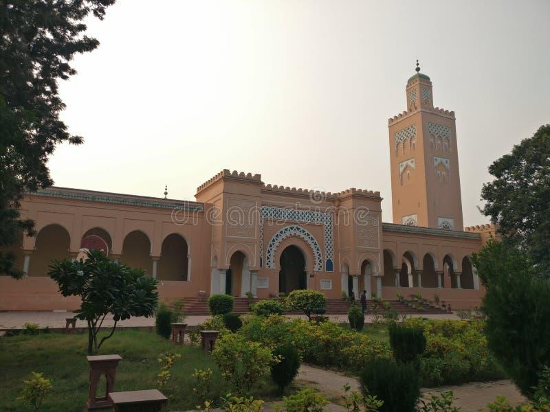 印度卡普尔塔拉摩尔清真寺 免版税库存图片