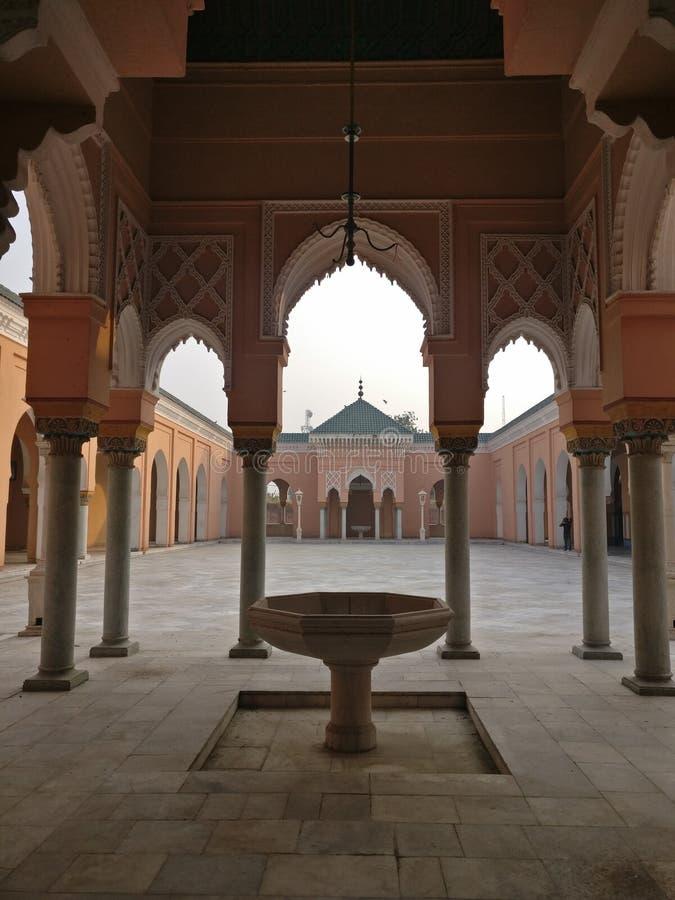印度卡普尔塔拉摩尔清真寺 库存照片