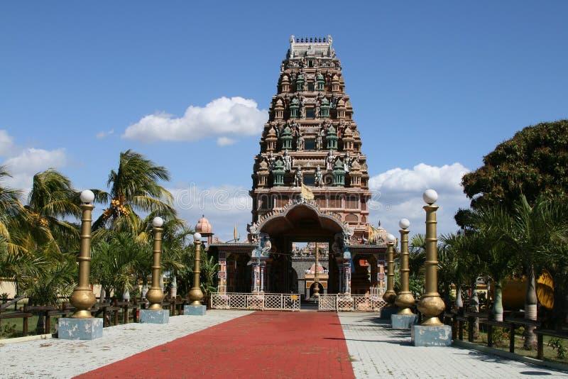 印度印第安寺庙 图库摄影