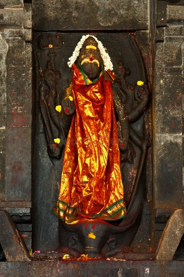 印度图象shiva寺庙 库存照片
