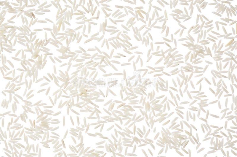 印度大米背景 免版税库存图片