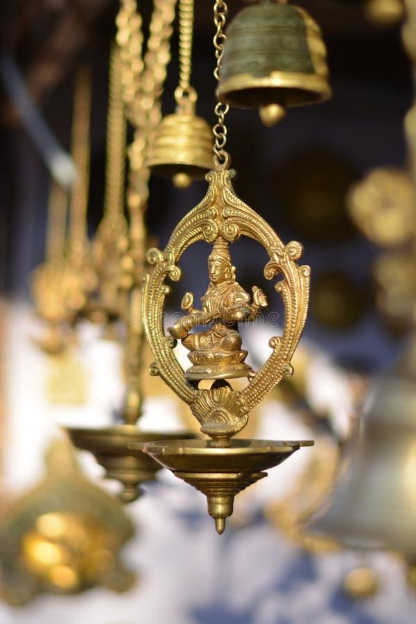 印度女神saraswati 免版税库存照片