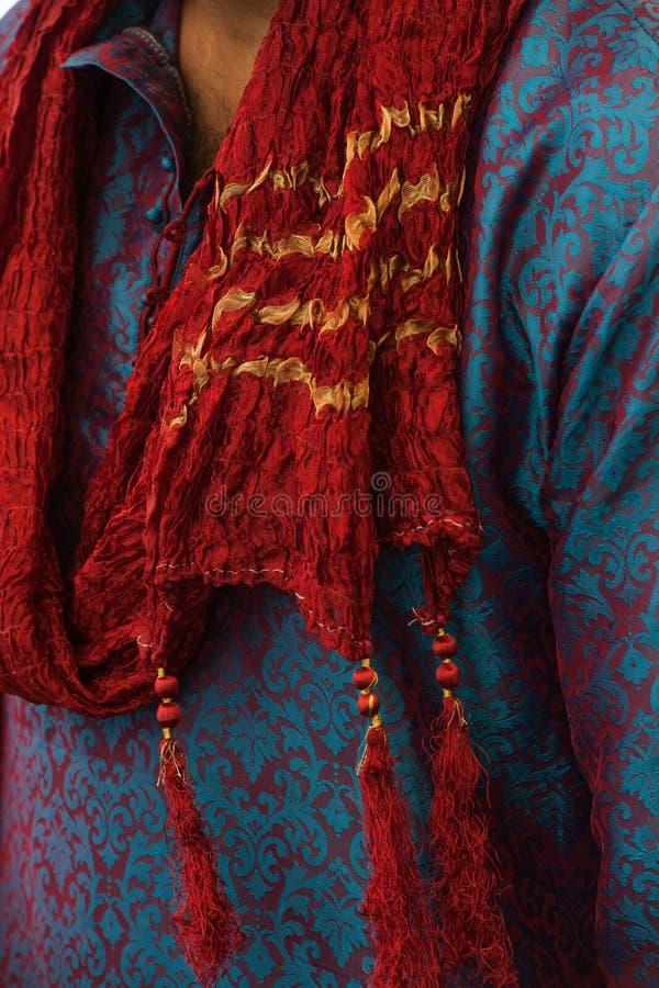 印度婚礼人的南亚衣物fasion 库存图片