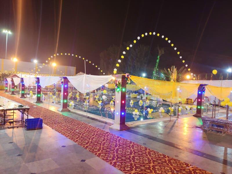 印度婚礼 免版税库存照片