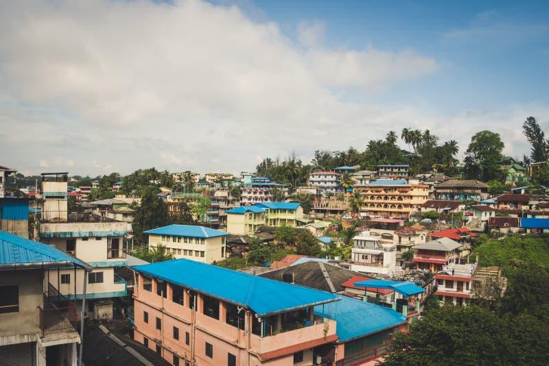 印度安达曼群岛布莱尔港 库存图片