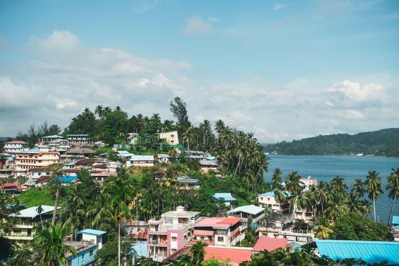 印度安达曼群岛布莱尔港 库存照片