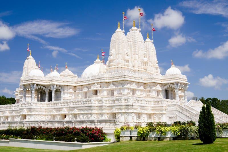 印度寺庙在亚特兰大, GA 库存照片