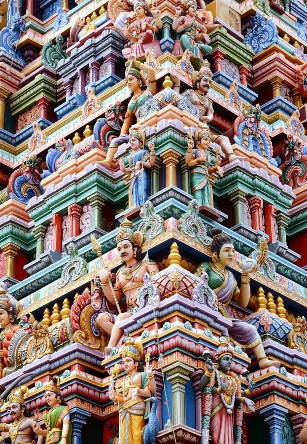印度寺庙塔 库存照片