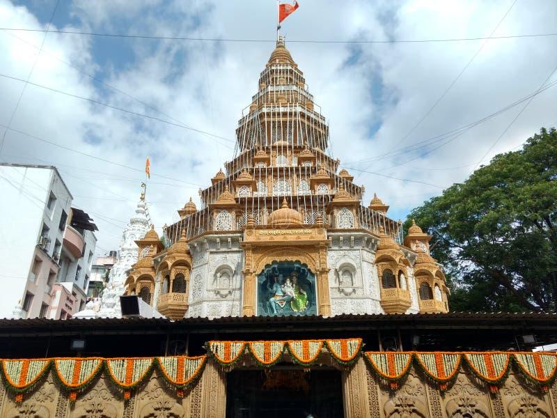 印度寺庙富有的阁下Ganesha 库存图片
