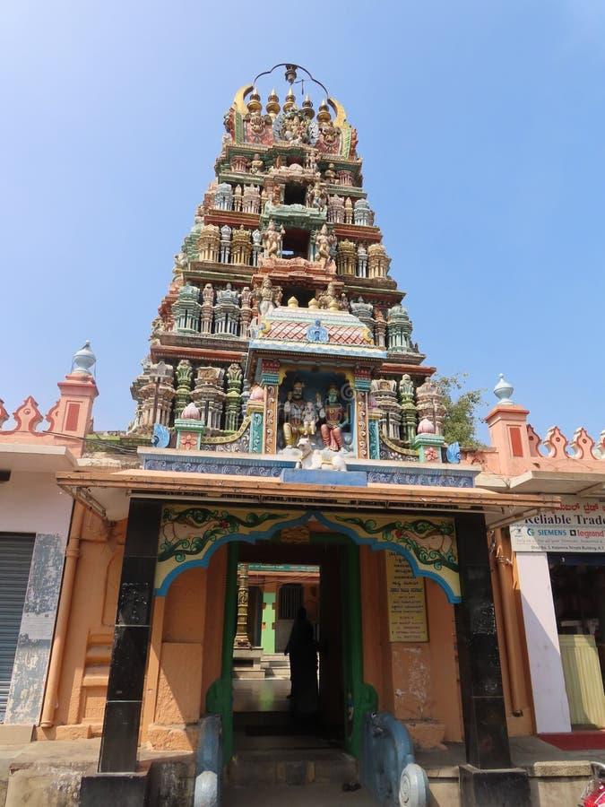 印度寺庙迈索尔 库存照片