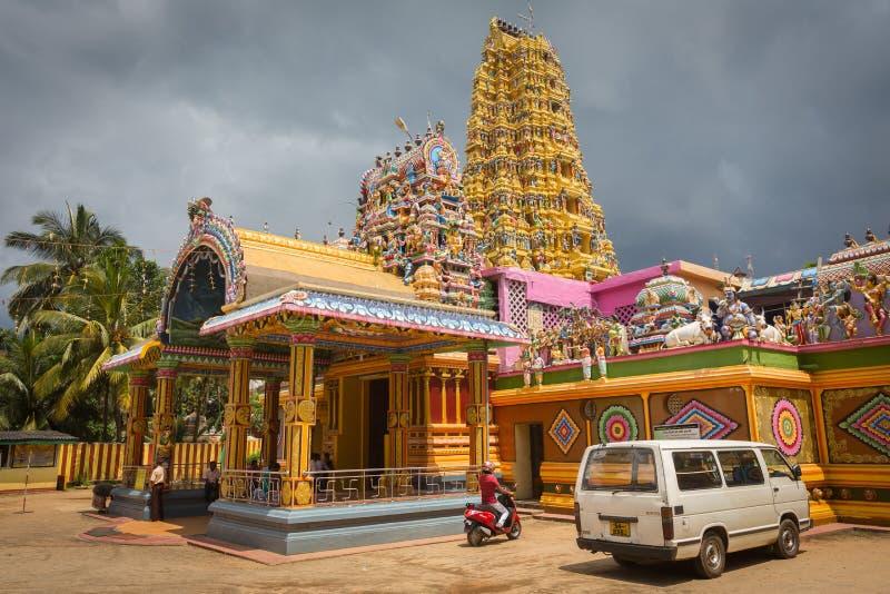 印度寺庙Matale Sri Muttu 库存照片