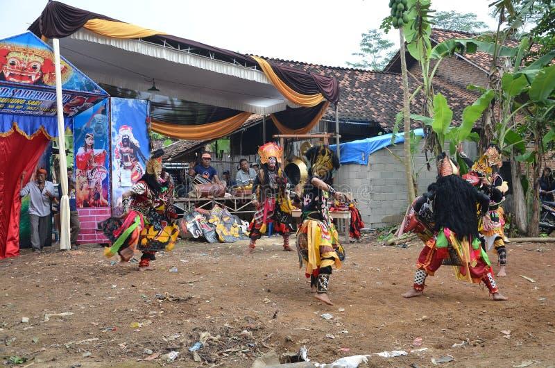 印度尼西亚传统艺术 免版税图库摄影