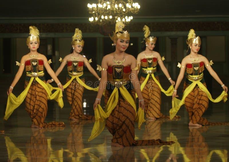 印度尼西亚传统舞蹈 免版税库存图片
