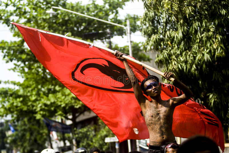 印度尼西亚多党的政治系统 免版税图库摄影